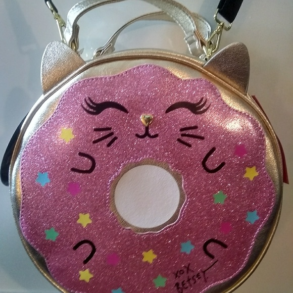 Betsey Johnson Handbags - Betsey Johnson Donut Cat Insulated Lunch Tote